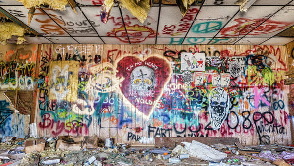 Wall Art - Photograph - Graffiti Town by Stephen Stookey