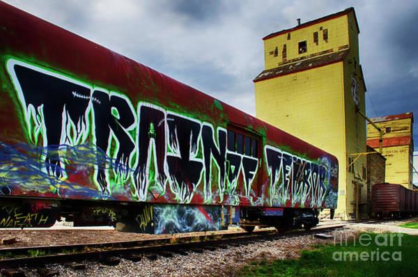 Wall Art - Photograph - Graffiti Train Of Terror  by Bob Christopher