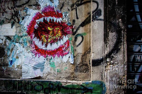 Photograph - Graffiti Urban by Bruno Spagnolo