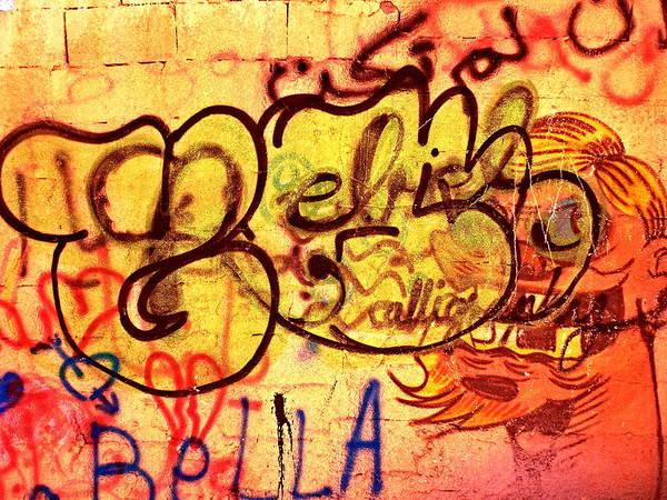 Arte Photograph - Graffiti Wall In Beirut by Funkpix Photo Hunter