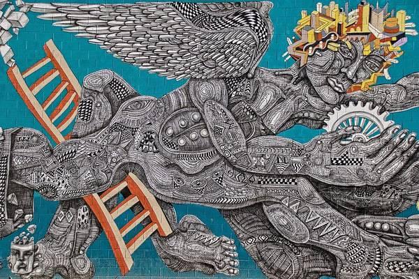 Photograph - Grafitti Angel by Alice Gipson