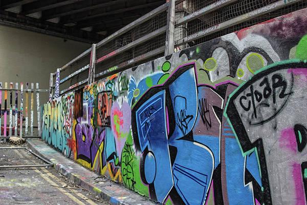 Spray Paint Photograph - Grafitti by Martin Newman