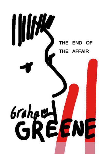 Graham Greene End Of Affair  Art Print