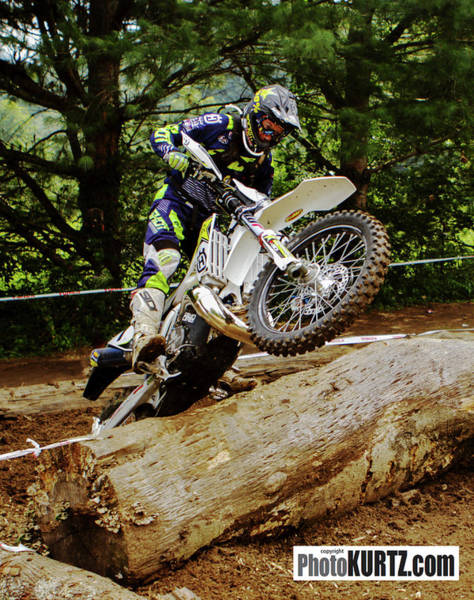 Graham Jarvis At 2017 Kenda Tennessee Knockout Enduro Art Print