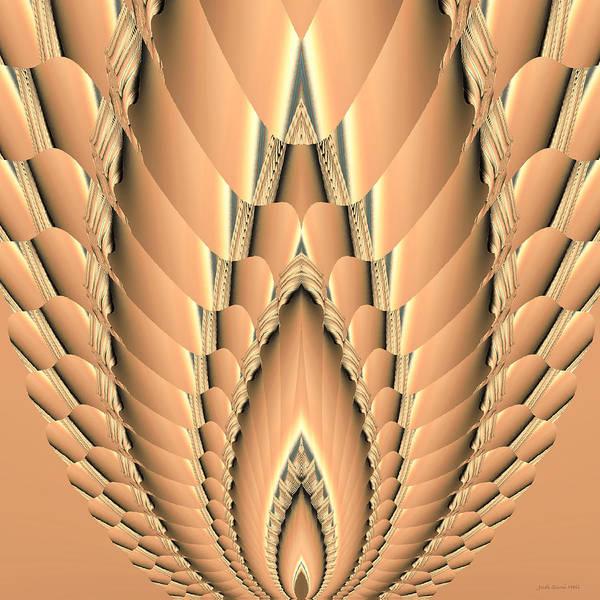 Digital Art - Grain Abstract by Judi Suni Hall