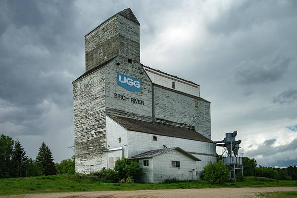 Birch Photograph - Grain Elevator by Bryan Scott