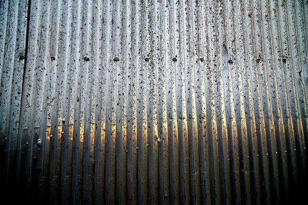 Photograph - Grain Elevator Tin by Jerry Sodorff