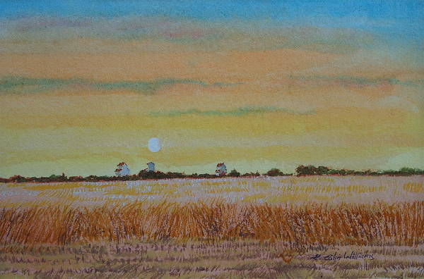 Painting - Grain Elevators - Late Afternoon by E Colin Williams ARCA