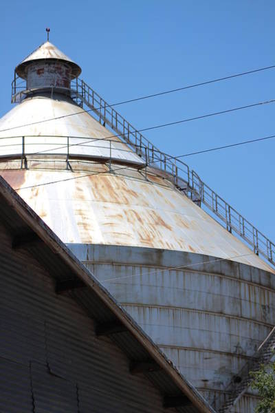 Photograph - Grain Silo In Roswell by Colleen Cornelius