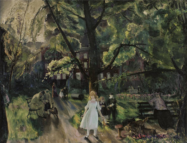 Photograph - Gramercy Park by George Bellows