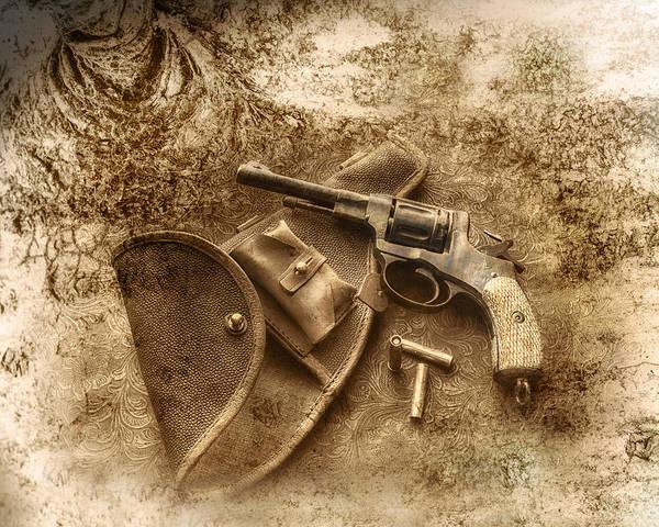 Antique Firearms Wall Art - Photograph - Grammas Gun 2 by Susan Capuano