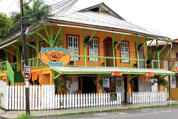 Photograph - Gran-kahuna Hostel At Bocas Del Toro by John Rizzuto