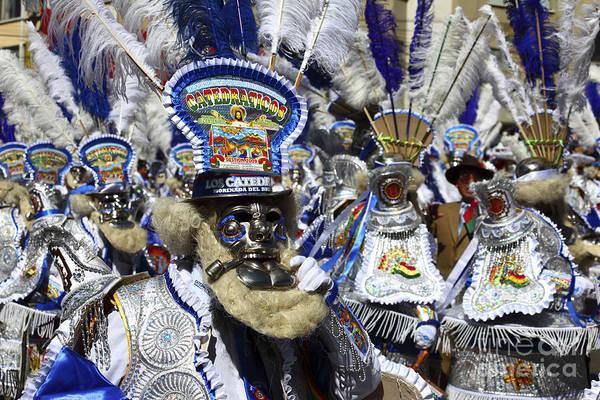 Photograph - Gran Poder Festival Bolivia by James Brunker