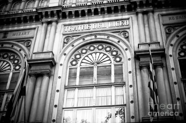Photograph - Gran Teatre Del Liceu In Barcelona by John Rizzuto