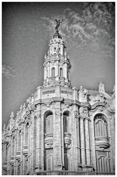 Photograph - Gran Teatro De La Habana by Mary Buck