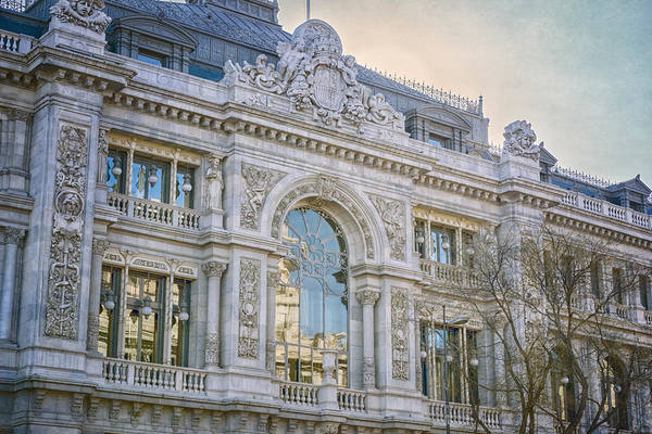 Photograph - Gran Via Architecture by Joan Carroll