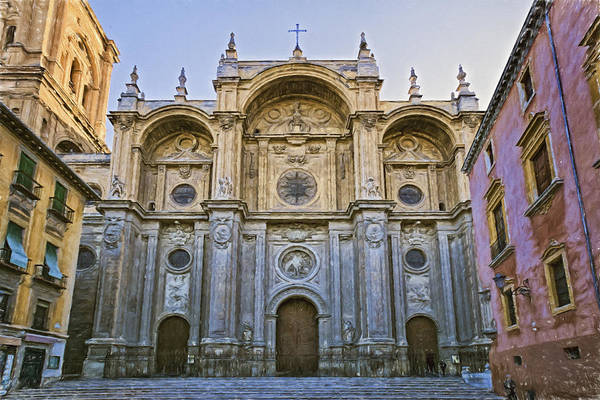 Photograph - Granada Cathedral by Joan Carroll