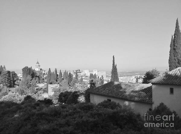 Photograph - Granada - Impression2 by Karina Plachetka