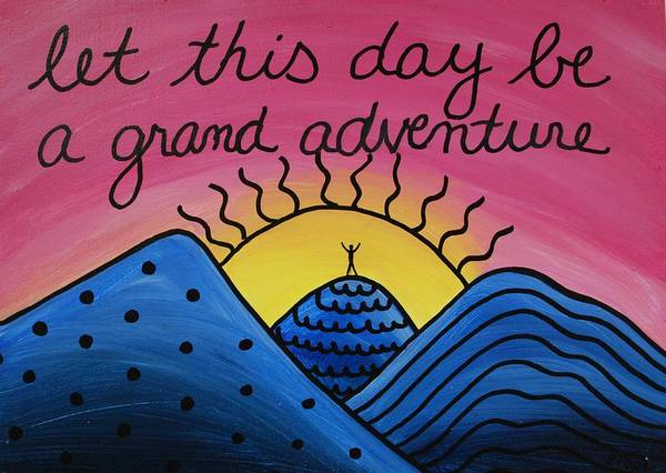 Painting - Grand Adventure by Emily Page