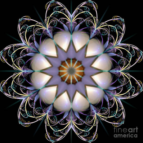 Digital Art - Grand Ballroom Chandelier by Rhonda Strickland
