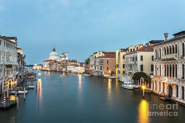 Photograph - Grand Canal In Venice, Italy by Didier Marti
