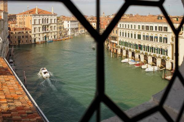 Photograph - Grand Canal View From My Venetian Palace Window by Georgia Mizuleva