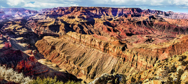 Grand Canyon Afternoon At Lipan Point Art Print