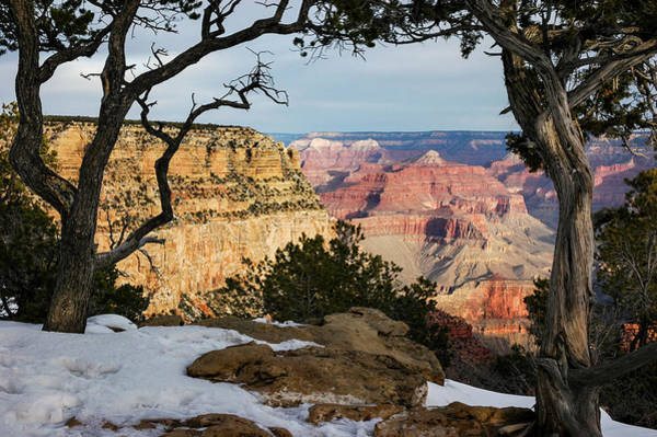 Photograph - Grand Canyon At Sunrise by Mary Lee Dereske