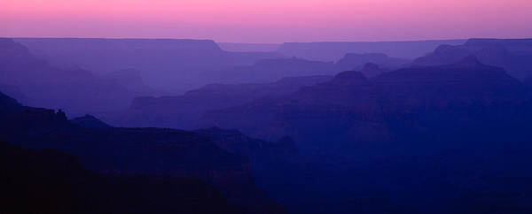 South Rim Photograph - Grand Canyon At Sunset, South Rim by Panoramic Images