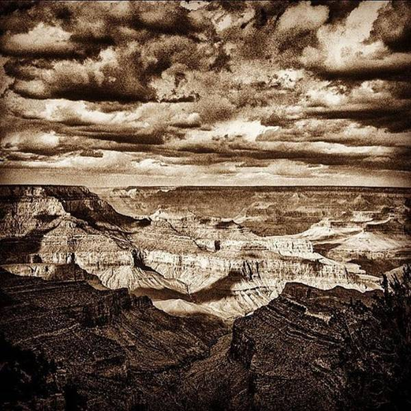 University Wall Art - Photograph - Grand Canyon Black And White Negative by Alex Snay