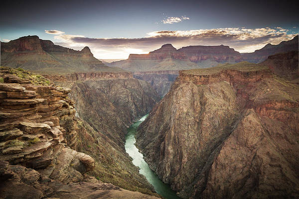 Photograph - Grand Canyon From Plateau Point by Whit Richardson