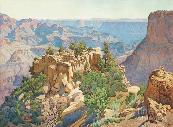 Wall Art - Painting - Grand Canyon by MotionAge Designs