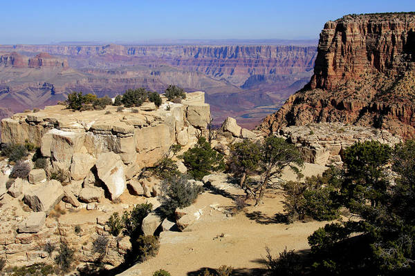 Photograph - Grand Canyon Landscape by Aidan Moran