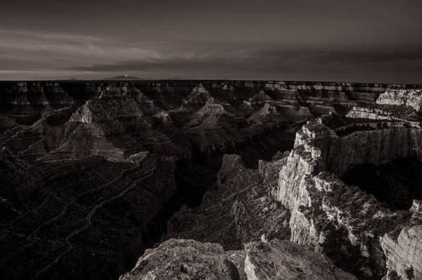 Photograph - Grand Canyon Monochrome by Scott McGuire