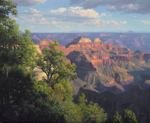 Grand Canyon North Rim Vista Art Print