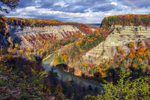 Letchworth Photograph - Grand Canyon Of The East by Mark Papke