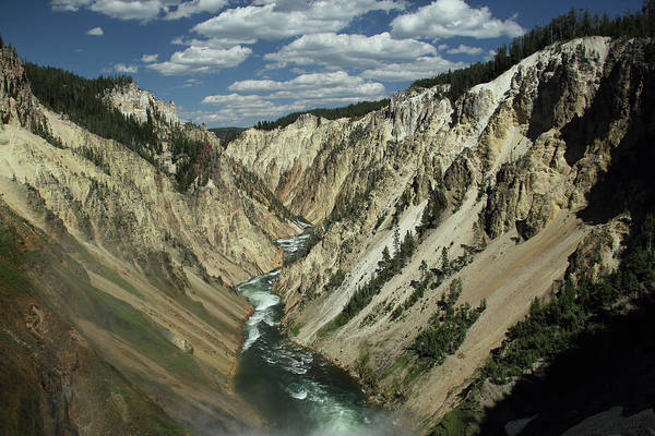 Photograph - Grand Canyon Of The Yellowstone 1 by Marie Leslie