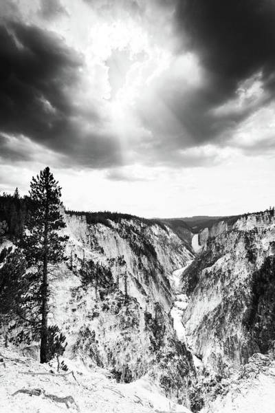 Photograph - Grand Canyon Of The Yellowstone by Alex Conu