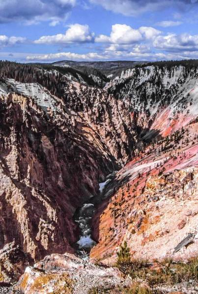 Photograph - Grand Canyon Of The Yellowstone by NaturesPix