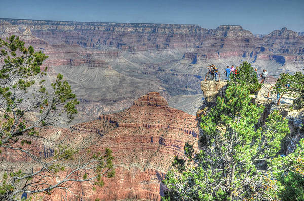 Photograph - Grand Canyon Overlook by David Armstrong