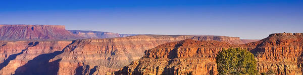 Photograph - Grand Canyon Panoramic by Lutz Baar