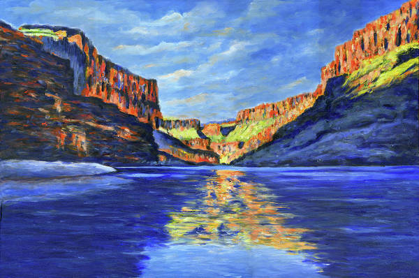 Painting - Grand Canyon Reflections by Stan Sweeney