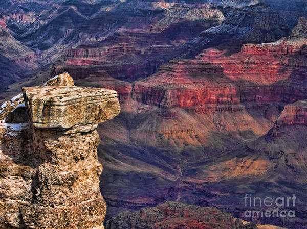 Grand Canyon Stacked Rock Art Print