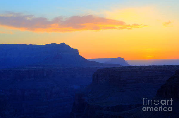 North Rim Photograph - Grand Canyon Sunrise At Toroweap by Bob Christopher