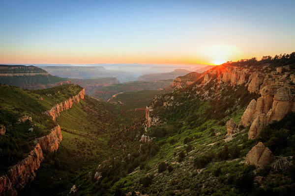 Wall Art - Photograph - Grand Canyon Sunset by Johnny Adolphson
