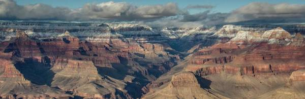 Photograph - Grand Canyon Sunset Panorama 2 by Teresa Wilson