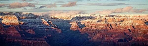 Photograph - Grand Canyon Sunset Panorama 3 by Teresa Wilson