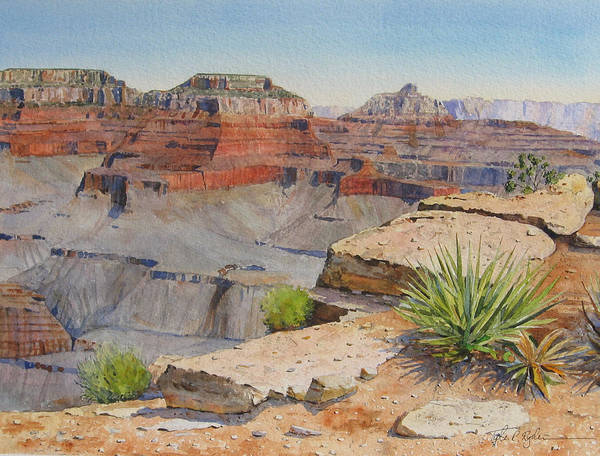 Painting - Grand Canyon by Tyler Ryder