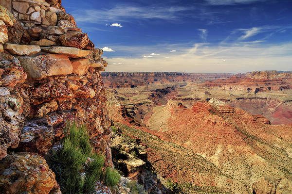 Photograph - Grand Canyon Wall by James Eddy