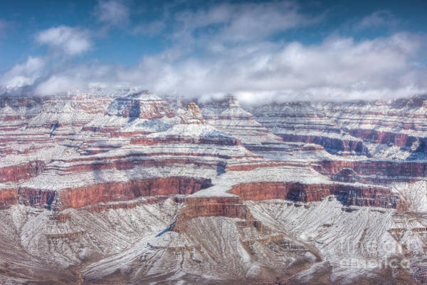 Photograph - Grand Canyon Winter Wonderland by Clarence Holmes